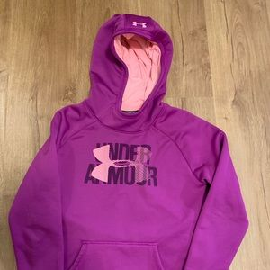 Girls YLG Under Armour Hoodie.